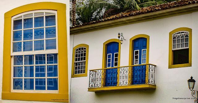 Casario colonial de Paraty
