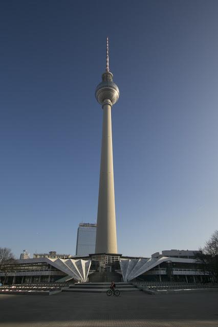 Torre della Tv-Fernehturm-Berlino