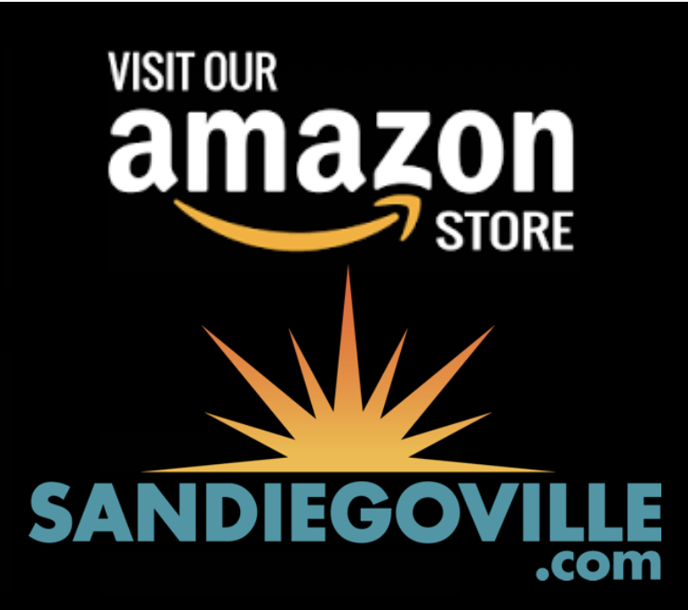Shop SanDiegoVille's Amazon Store!