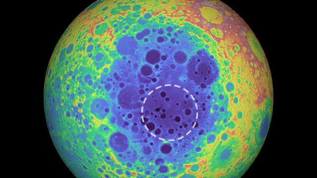 Huge hidden structure beneath the surface of the Moon is discovered by scientists