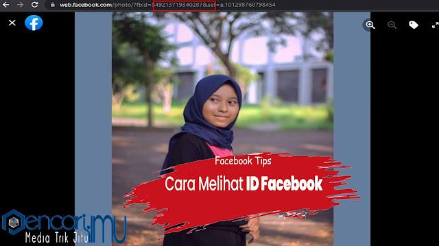 Cara Melihat ID FB Terbaru