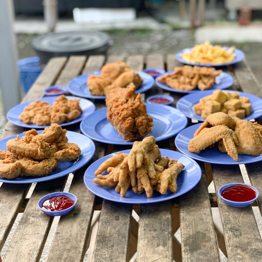 Ting Tong Ayam Goreng, Ayam Goreng lazat, Ayam goreng halal, bersih, sedap, segar, Rawlins Eats, Rawlins GLAM, Rawlins Lifestyle