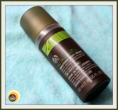 The Body Shop Nutriganics Smoothing Night Cream