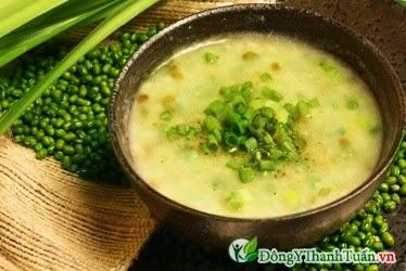 Món ăn mát gan - Cháo đậu xanh