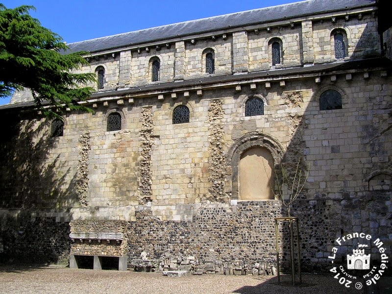 LE HAVRE (76) - Abbaye Sainte-Honorine de Graville
