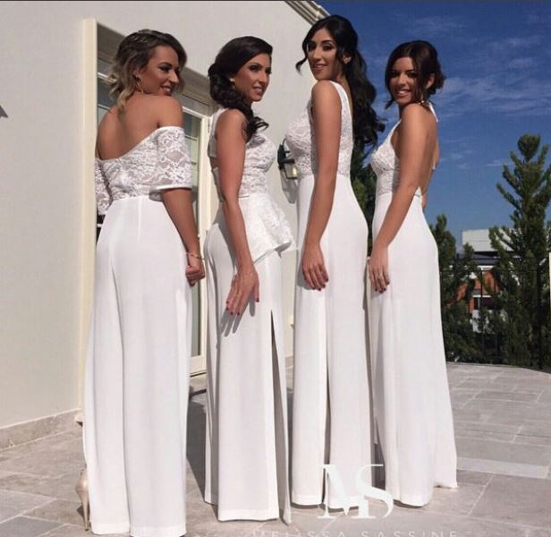 Jumpsuits To Wear To A Wedding: Sensa Greene : Hot Trend: Bridesmaid Jumpsuit