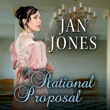 A Rational Proposal (Furze House Irregulars Book 1). A dark-haired young woman in a pink gown gazes curiously over her shoulder.