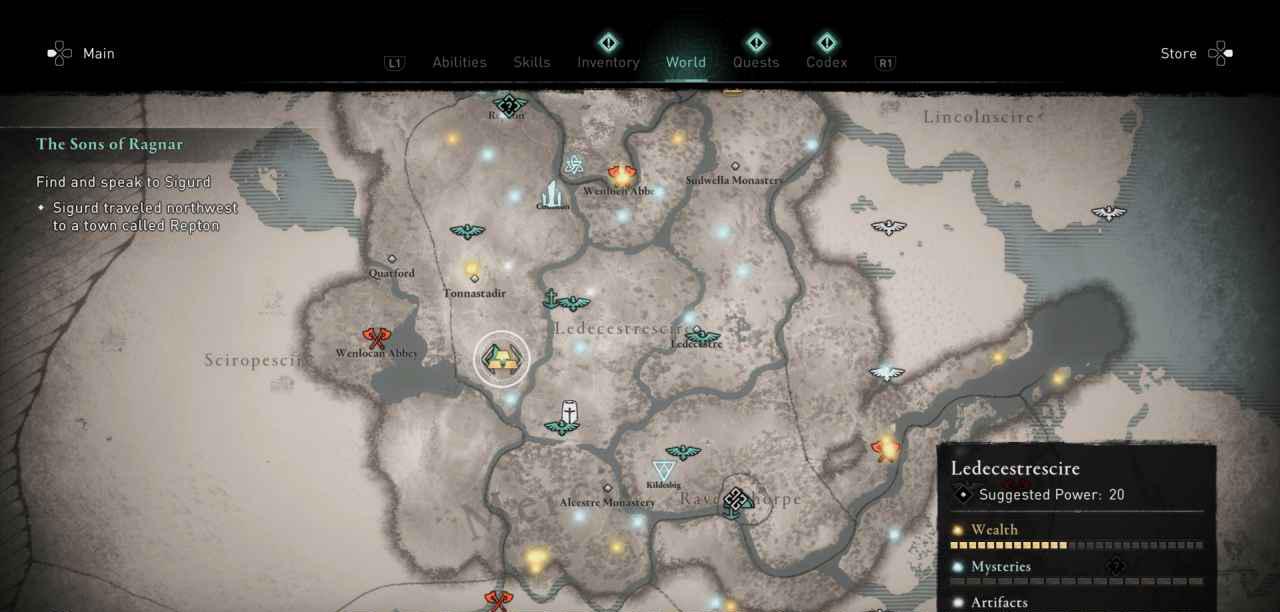 Ingot 19 Map
