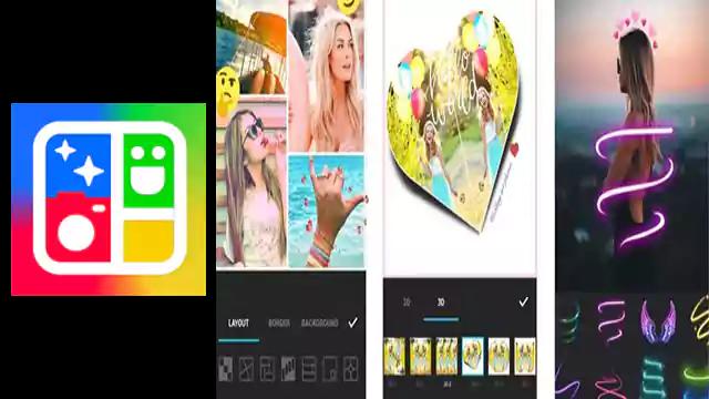 تحميل تطبيق اندرويد Photo Collage Maker تعديل الصور