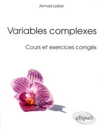 Variables Complexes Cours Et Exercices Corriges