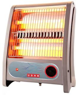 Usha Quartz 800-Watt Room Heater
