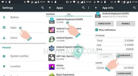 Mengatasi Keyboard Android Telah Berhenti