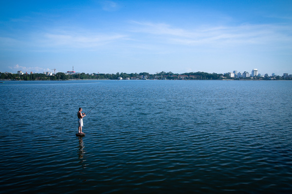 Average temperature in Hanoi - Ho Tay (West Lake) in the summer