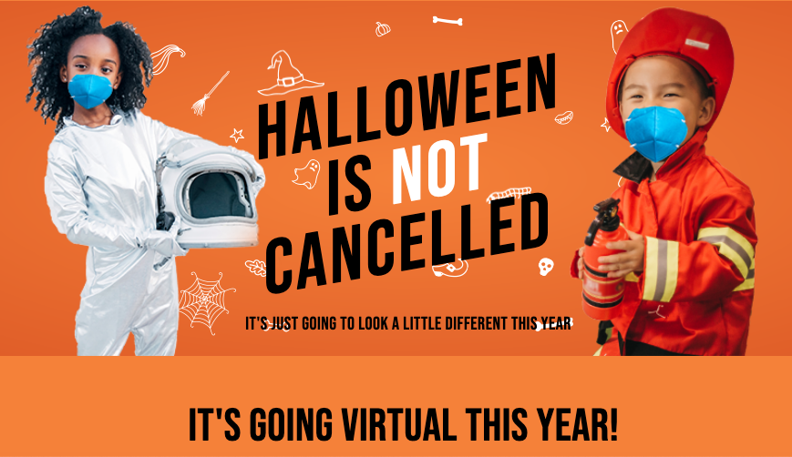 Celebrate Halloween with a virtual Trick or Treat box from UNICEF