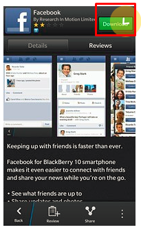 Facebook Free Download On Blackberry