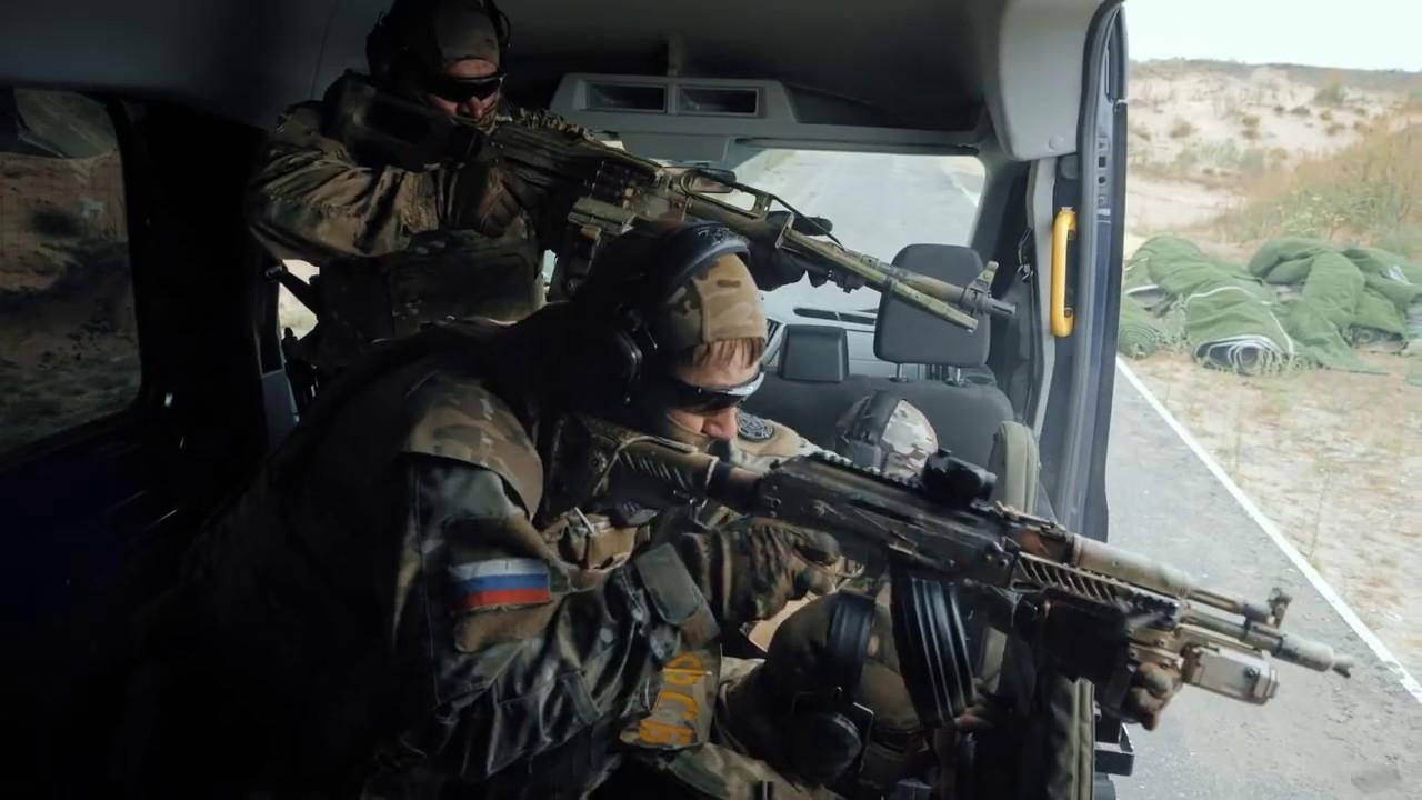 Спецназ ФСБ в действии