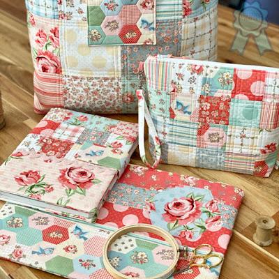 Dots and Posies fabric Tour Projects ©Copyright 2021 Belinda Karls-Nace/Blue Ribbon Designs, LLC http://www.blueribbondesigns.blogspot.com