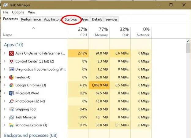 windows-os-run-fast-task-manager-start-up