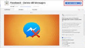Hapus Cepat Pesan Facebook - Chrome Extension