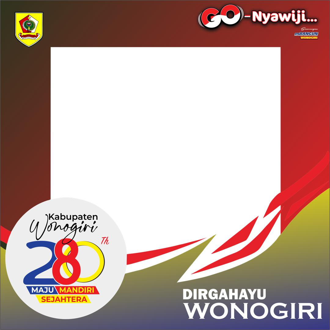 Link Download Twibbon Dirgahayu Wonogiri ke-280 Tahun 2021