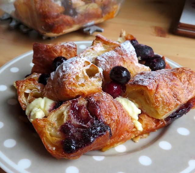 Berry & Cream Croissant French Toast for Two