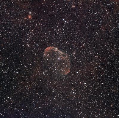 "NGC 6888, nebulosa ""Creixent"" al Cigne"