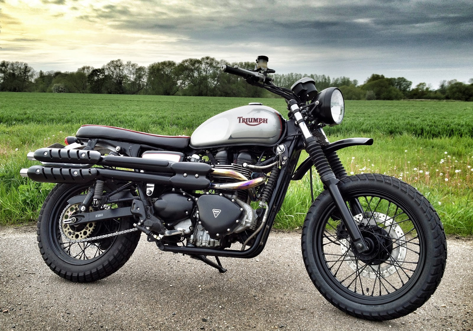 Triumph Custom By Spirit Of The Seventies