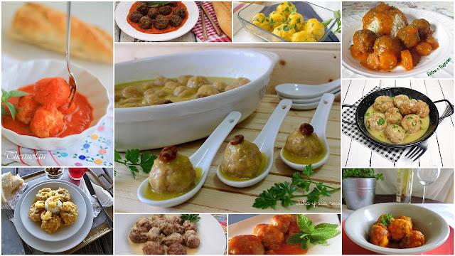 Recetas de albóndigas de lujo. Julia y sus recetas