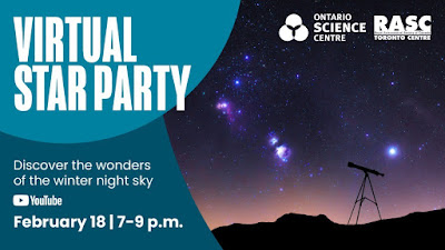 Virtual Star Party on Feb 18