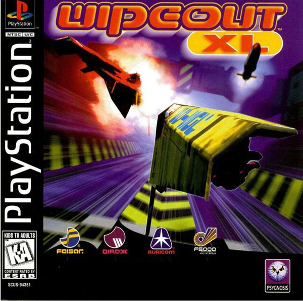 Wipeout XL ISO PS1