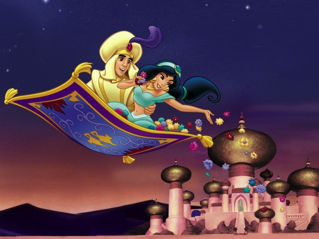 Gif Fliegender Teppich Random Wallpapers Aladdin Cartoon Wallpapers
