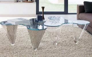 дизайнерская мебель из стекла в москве