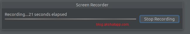 Screen Recorder Start