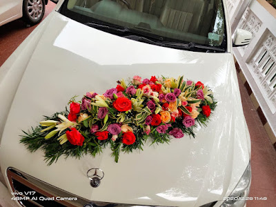 Car Benz Decoration Kerala