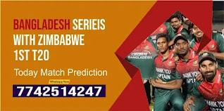 Bangladesh Series With Zimbabwe T20, Match 1st: Ban vs Zim Today cricket match prediction 100 sure