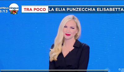 Federica Panicucci mattino Cinque oggi 8 dicembre
