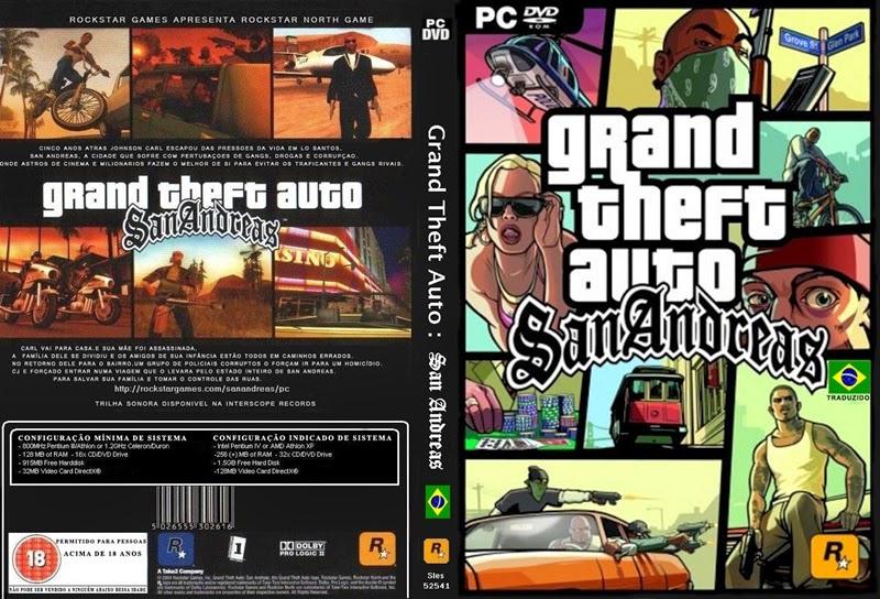 Download: GTA: San Andreas PC Completo PT-BR
