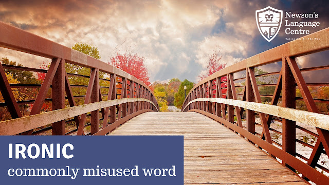 """Interesting facts - the word """"ironic."""""""
