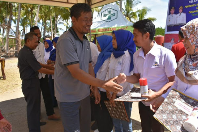 Ketua DPRD Sinjai Hadiri Pelantikan Karang Taruna