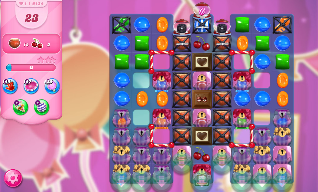 Candy Crush Saga level 6134