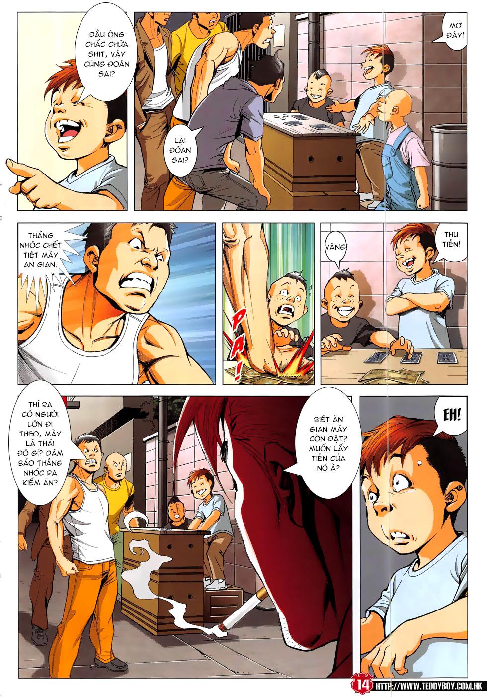 Người Trong Giang Hồ chapter 1864: cha tôi diệu dương trang 13