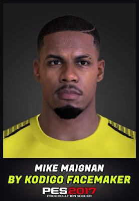 PES 17 Mike Maignan Face by Kodigo Facemaker