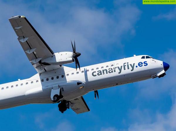 Canaryfly se ve obligado nuevamente a suspender su operativa con La Palma
