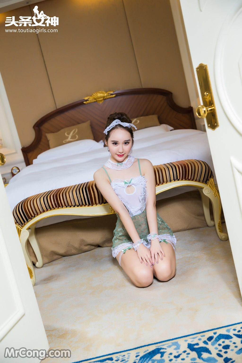 Image MrCong.com-TouTiao-2016-12-15-Wang-Yue-003 in post TouTiao 2016-12-15: Người mẫu Wang Yue (王悦) (17 ảnh)