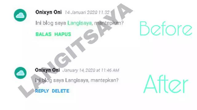 Mematikan Link Aktif Di Komentar Blogger Secara Otomatis