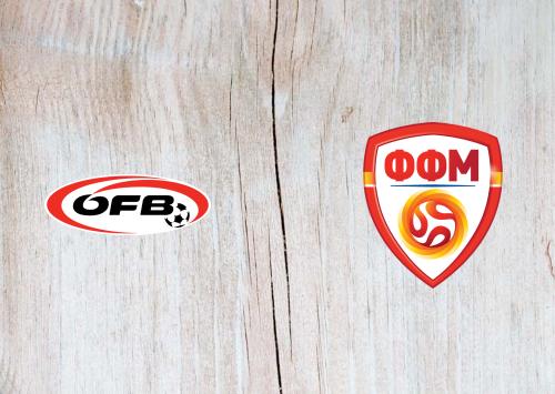Austria vs North Macedonia -Highlights 16 November 2019