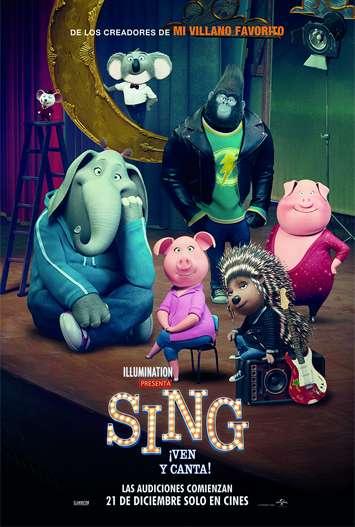 Sing 3D SBS (2016) [BrRip 1080p] [Dual Latino-Ingles] [MEGA]