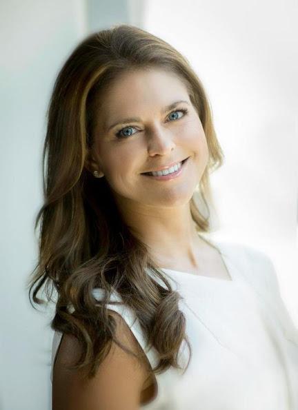 A new photo of Swedish Princess Madeleine