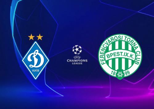 Dynamo Kyiv vs Ferencvaros -Highlights 08 December 2020