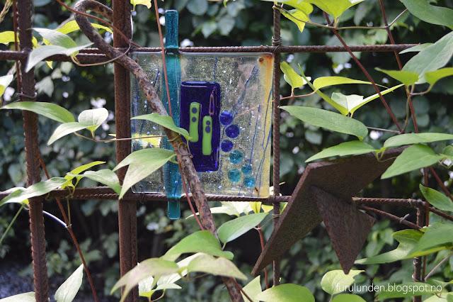 Kunstglass detalj